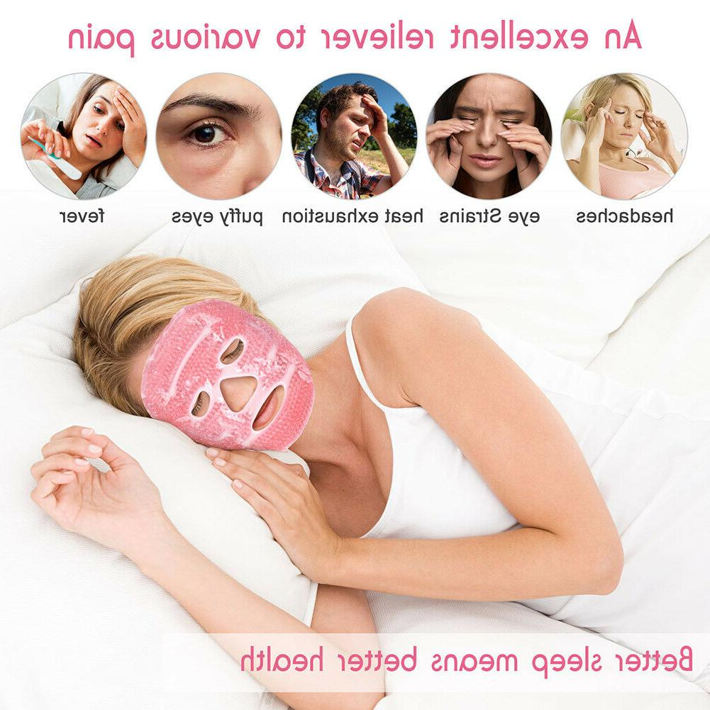 Reusable Cold mask Migraine Sleeping Relax