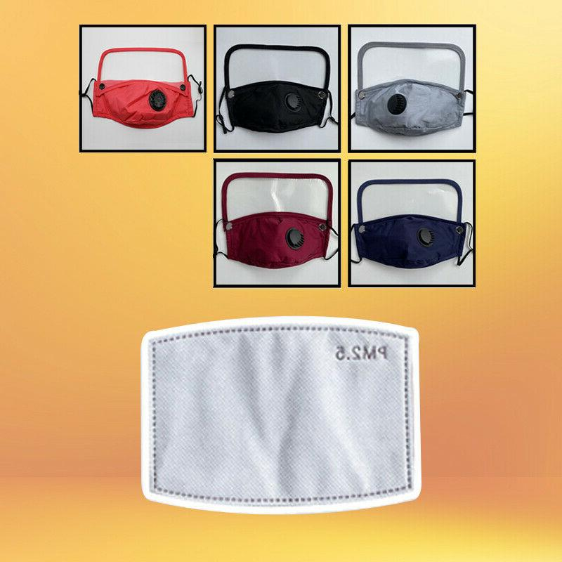 Reusable Cloth Mask Air and Eye Shield +PM2.5