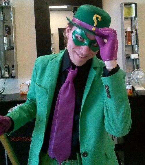 Riddler Green Eye MOST Authentic