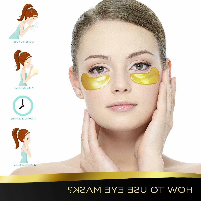 20 Mask Gold Eye Patch