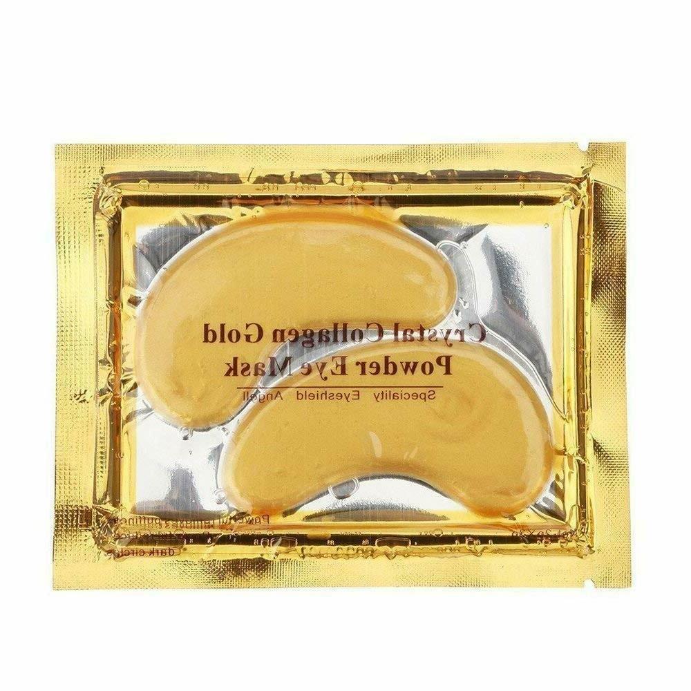 20 Eye Mask Gold Patch Circle Gel Pad