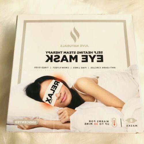 self heating aromatherapy eye mask 6 pack