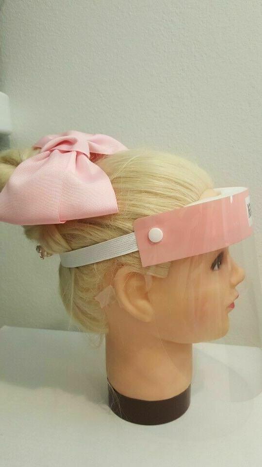 set of 2 - Protective Face Shield Anti-Fog Eye Helmet