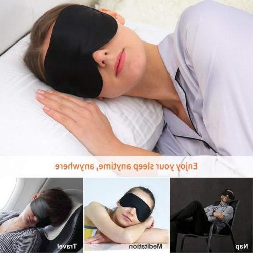 Silk Mask Blindfold Soft Comfortable