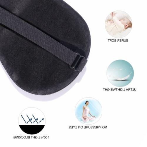 Silk Mask Cover Blindfold Soft Relax Comfortable