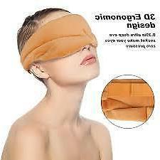 Sleep Eye Mask 3D Contoured Cup Sleeping Mask & Blindfold wi