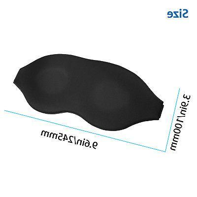 Travel Sleep Mask 3D Shade Blindfold Plugs