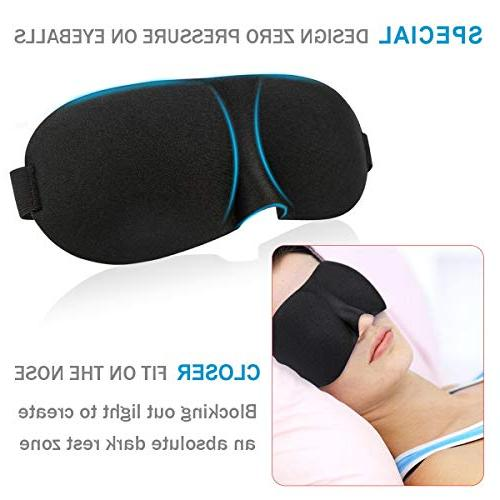 YIVIEW of & Comfortable 3D Contoured Eye for Shift Work, Eyeshade