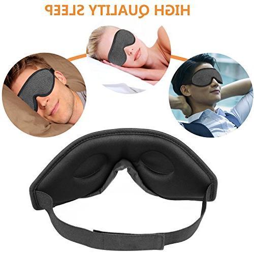 Sleep Lightweight 3D Sleeping Mask Eye for Night Nap,