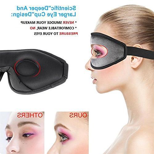 Sleep and Men, Lightweight Mask for Night Sleeping, Nap, Shift