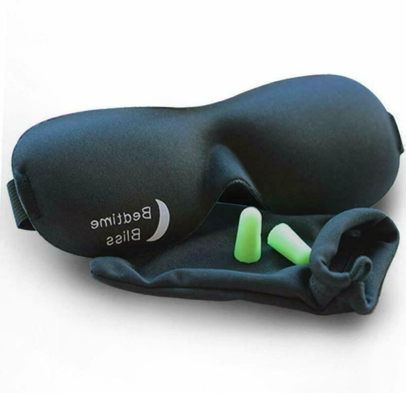 Sleep Mask Ear Plugs With