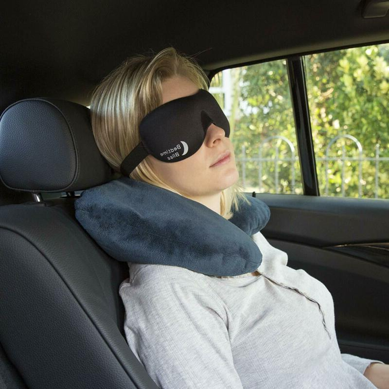 Sleep Eye Mask Ear Plugs Carry