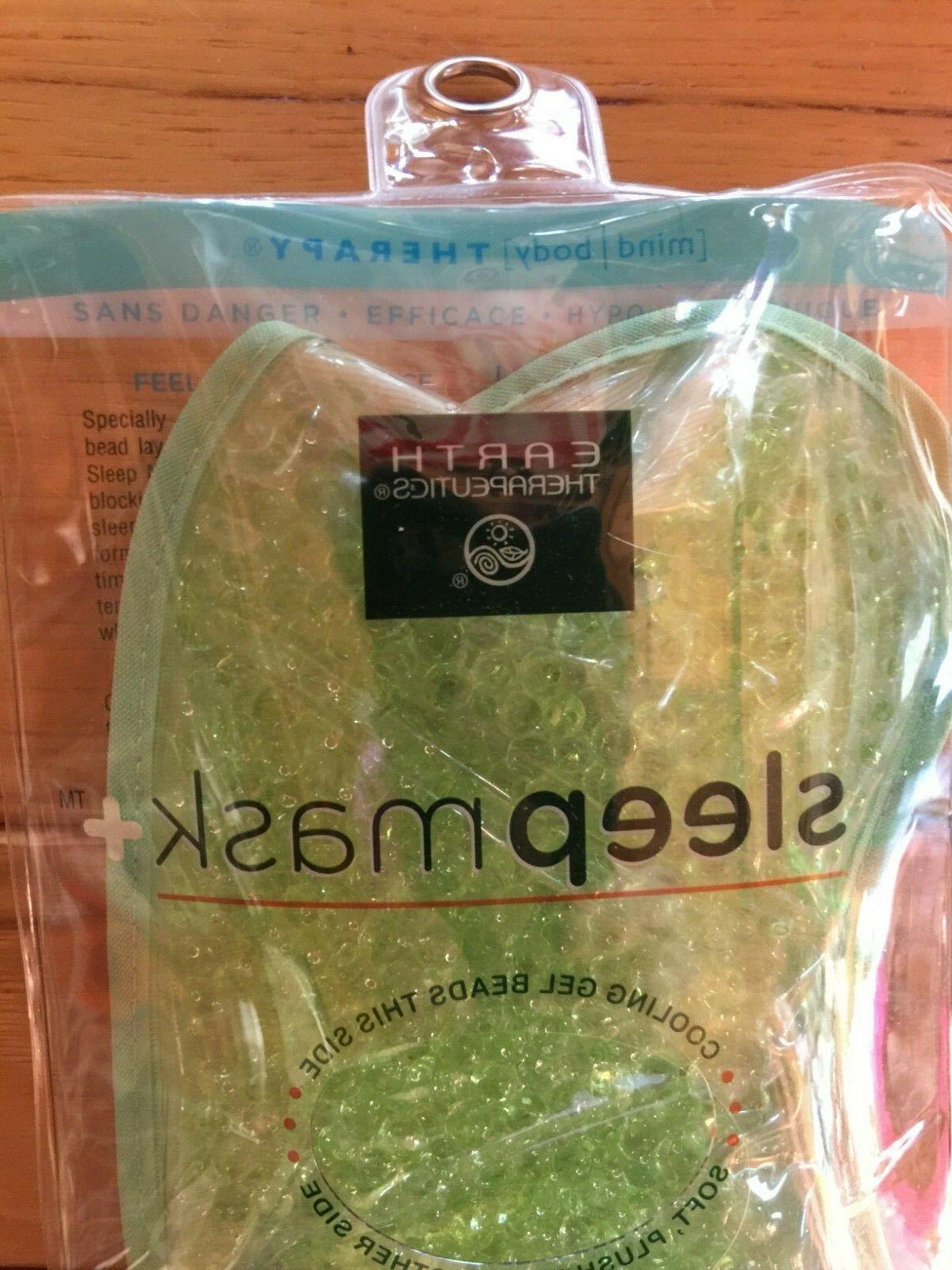 Earth Therapeutics Sleep Mask Eye Fleece