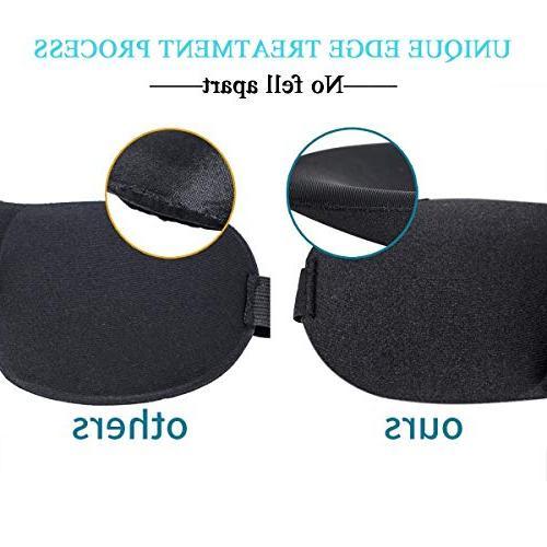3 Super Soft, & Comfortable Sleeping Mask Adjustable 3D Eye for Sleeping, Airplane, Shift Best Eyeshade for Women