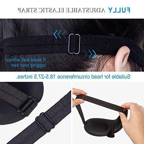 Super Soft, Comfortable Mask 3D Mask for Shift Naps for Men Women