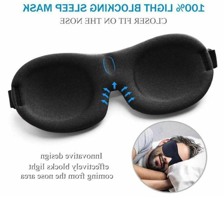 Sleeping Sleep Men Blindfold Face Eyemask