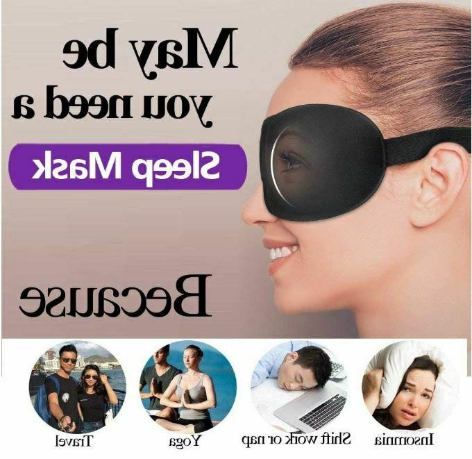 Sleeping 3D Sleep Mask Men Masks Eyemask