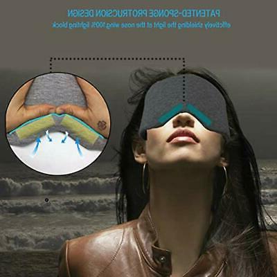 Leeken Sleeping Masks Handmade For Blinder