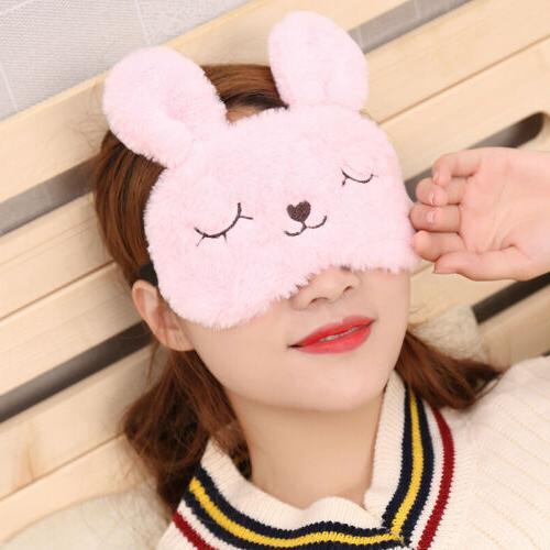 Cute Plush Cartoon Eye Blindfold