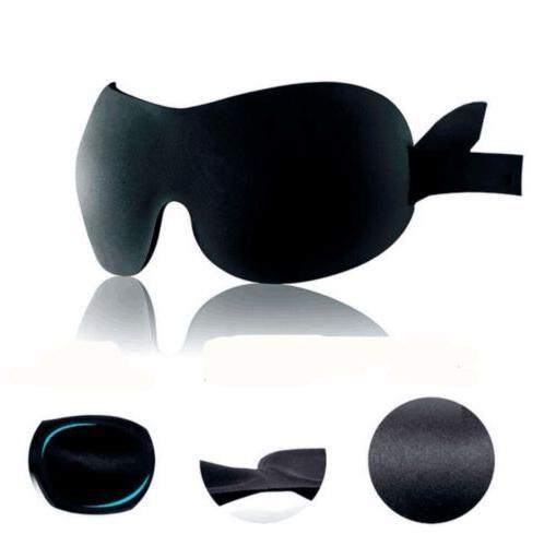 Soft Eye Mask Rest Sleep Aid Cover