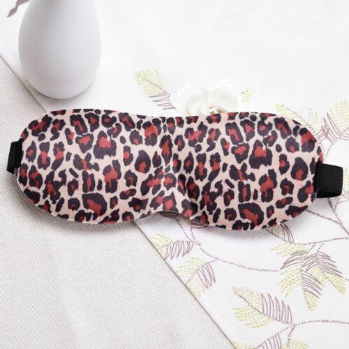 Soft Blindfold 3D Eye Sleep Aid Shade Cover Unisex Adjustable