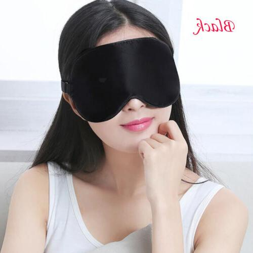 Soft Pure Rest Eye Cover Travel Blindfolds