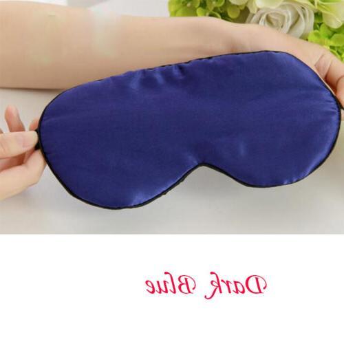 Soft Eye Padded Shade Cover Travel Blindfolds