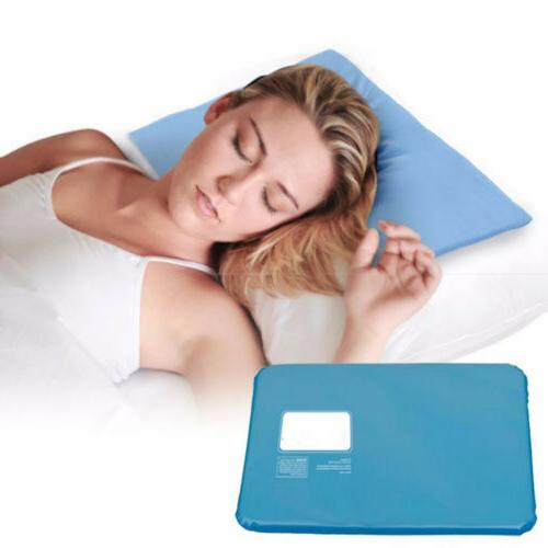 2x Cooling Mat Sleeping Relax Chillow Pillow
