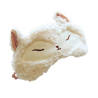 Ayygiftideas Fox Wool Patch Eyeshade Cover Blinder