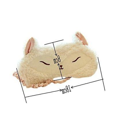 Ayygiftideas Wool Eye Mask Eyeshade Sleeping