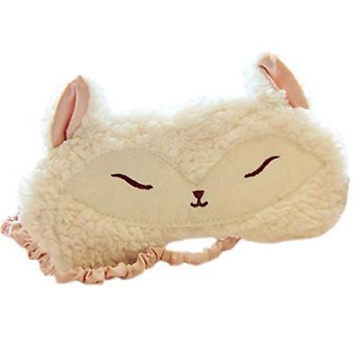sweet fox lambs wool patch eye mask