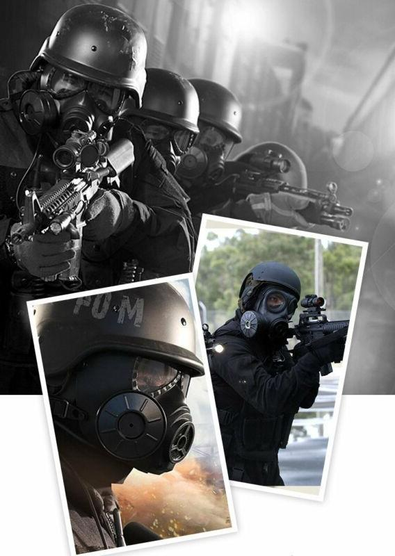 VILONG Airsoft Full Mask, Filter Black