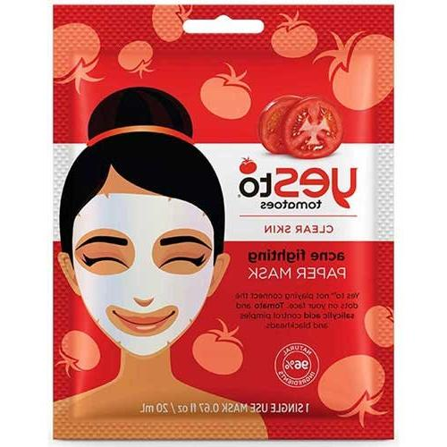 Yes To - Tomatoes Acne Fighting Paper Mask - 1 Count