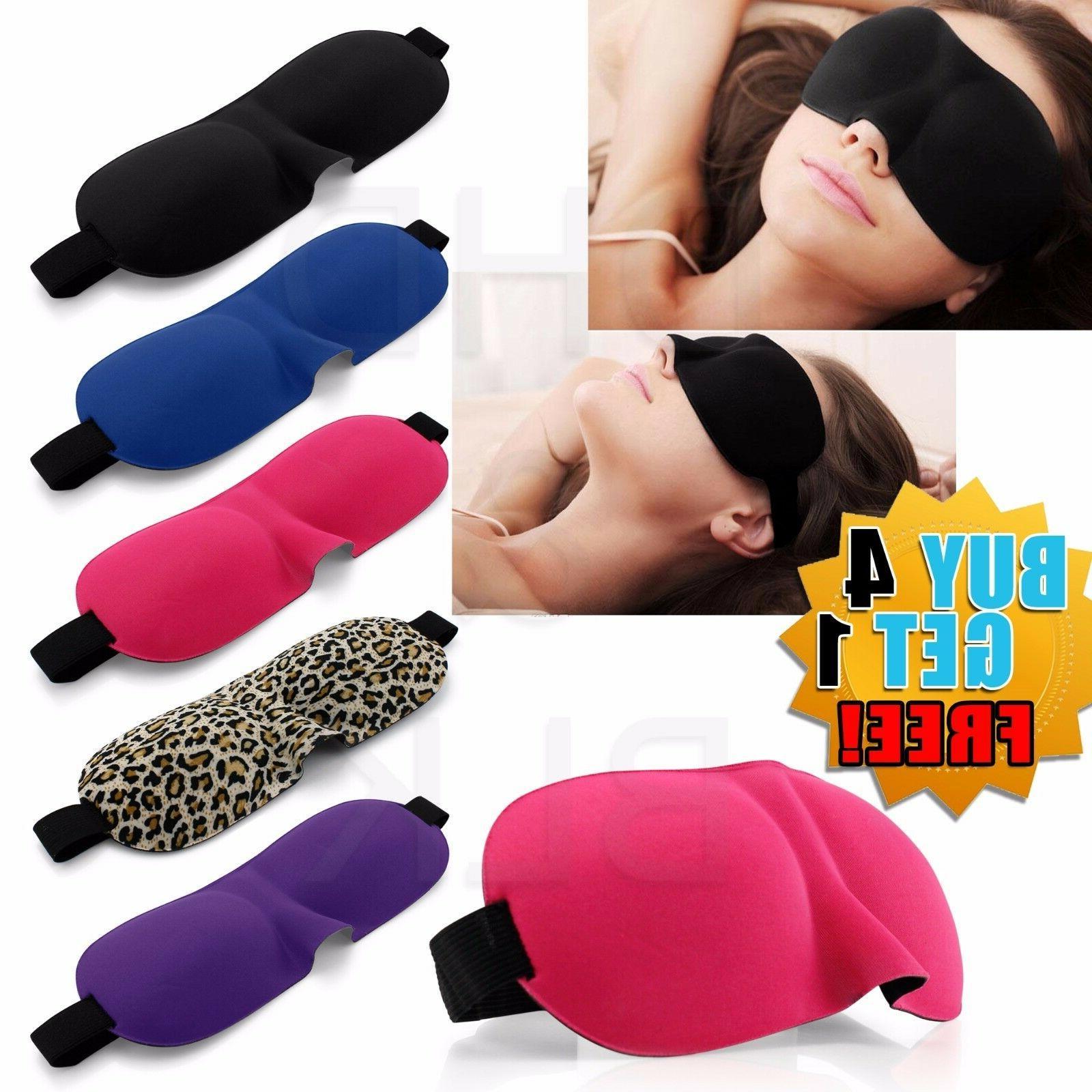 travel 3d eye mask sleep soft padded