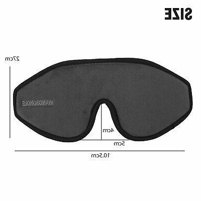 3D Eye Mask Travel Eyepatch Shade US