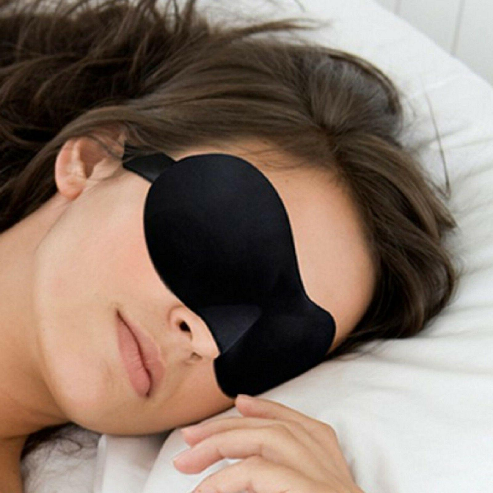 travel 3d eye mask sleep soft padded