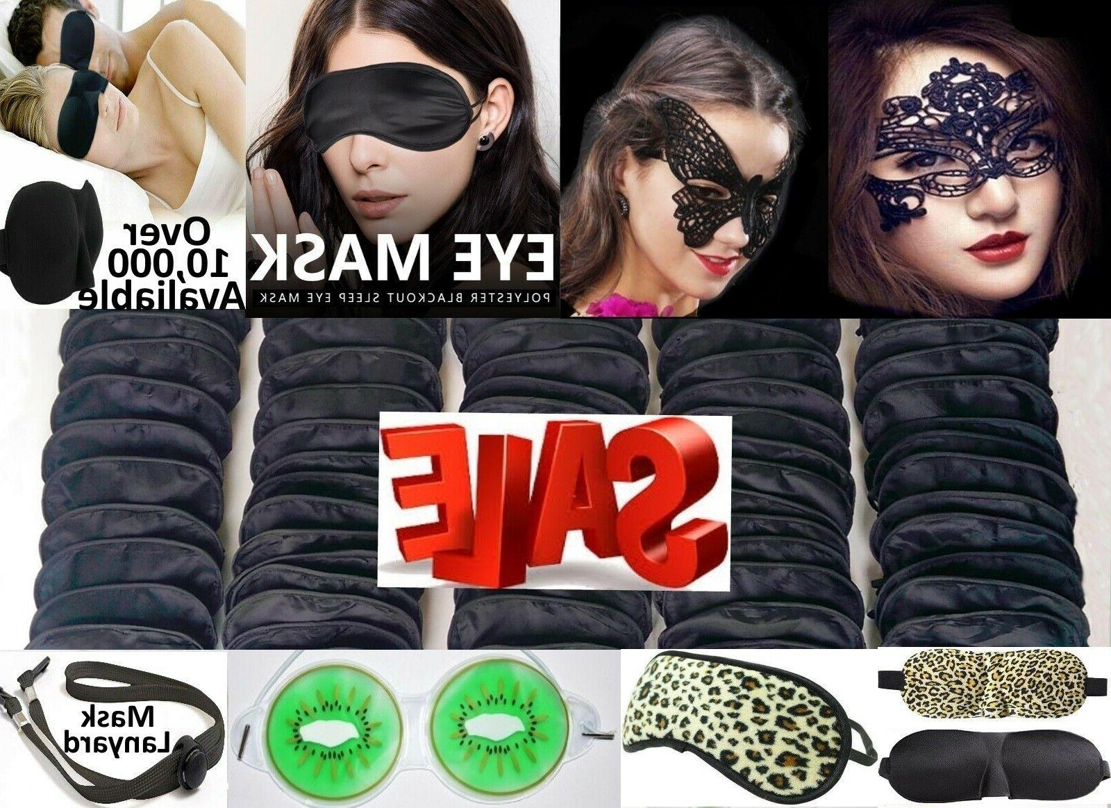 travel eye mask sleep soft shade cover