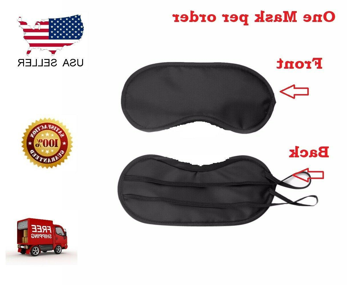 Travel Eye Mask Sleep Soft Shade Cover Rest Relax Sleeping B