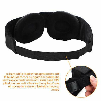 Travel 3D Foam Padded Shade Blindfold NEW