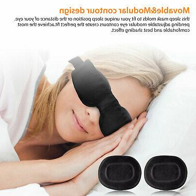 Travel Sleep Eye 3D Memory Shade Cover NEW