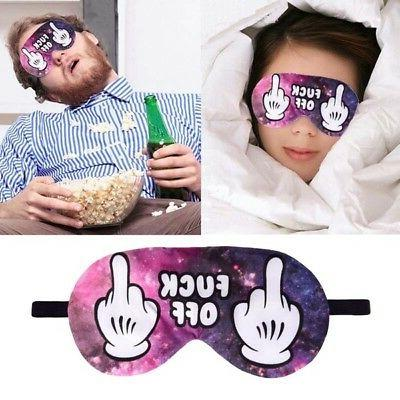 Eye Mask Adjustable Strap Unisex Fashion Sleeping Rest Mask