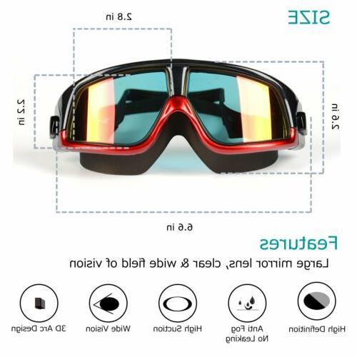 Unisex Eye Large Frame Glasses Goggles Waterproof UV