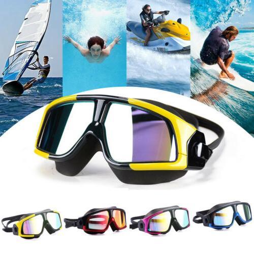 unisex swim eye mask large frame glasses