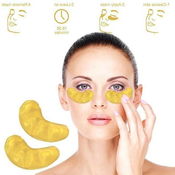 USA 24Pcs Eye Mask Collagen Eye