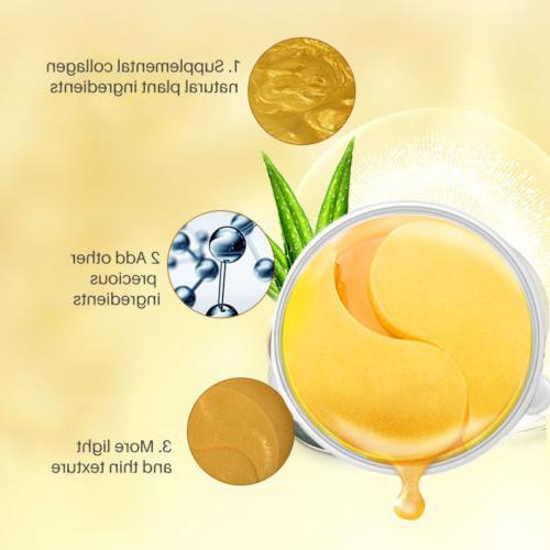 USA Gold Eye Patch Mask Collagen Gel Eye