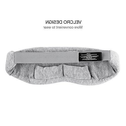 Plemo Velvet Ultra-Soft 100% Adjustable Strap for Bedtime