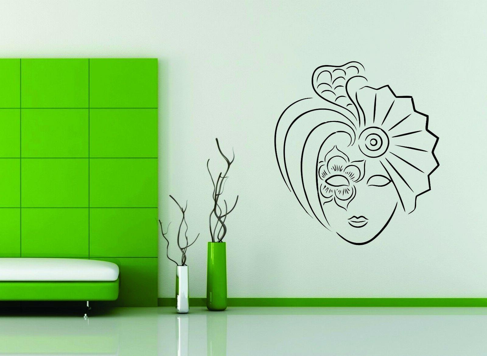 wall decor vinyl sticker decal mask venetian