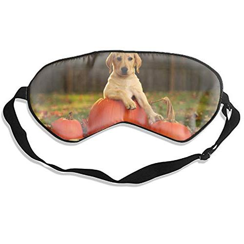 yellow puppy sleep mask super