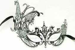 LASER CUT Masquerade Mask Venetian Carnival Prom Wedding Cos