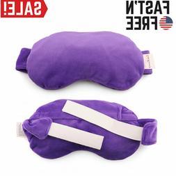 Lavender Eye Mask Pillow Blindfold Sleeping Aid Travel Yoga
